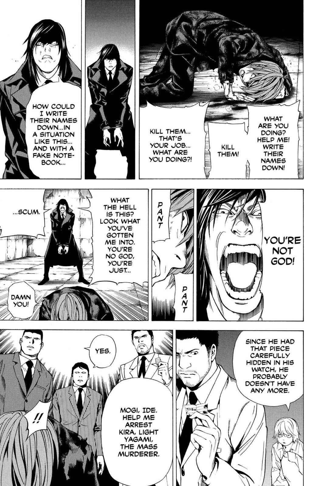 Death Note Chapter 106 Page 17