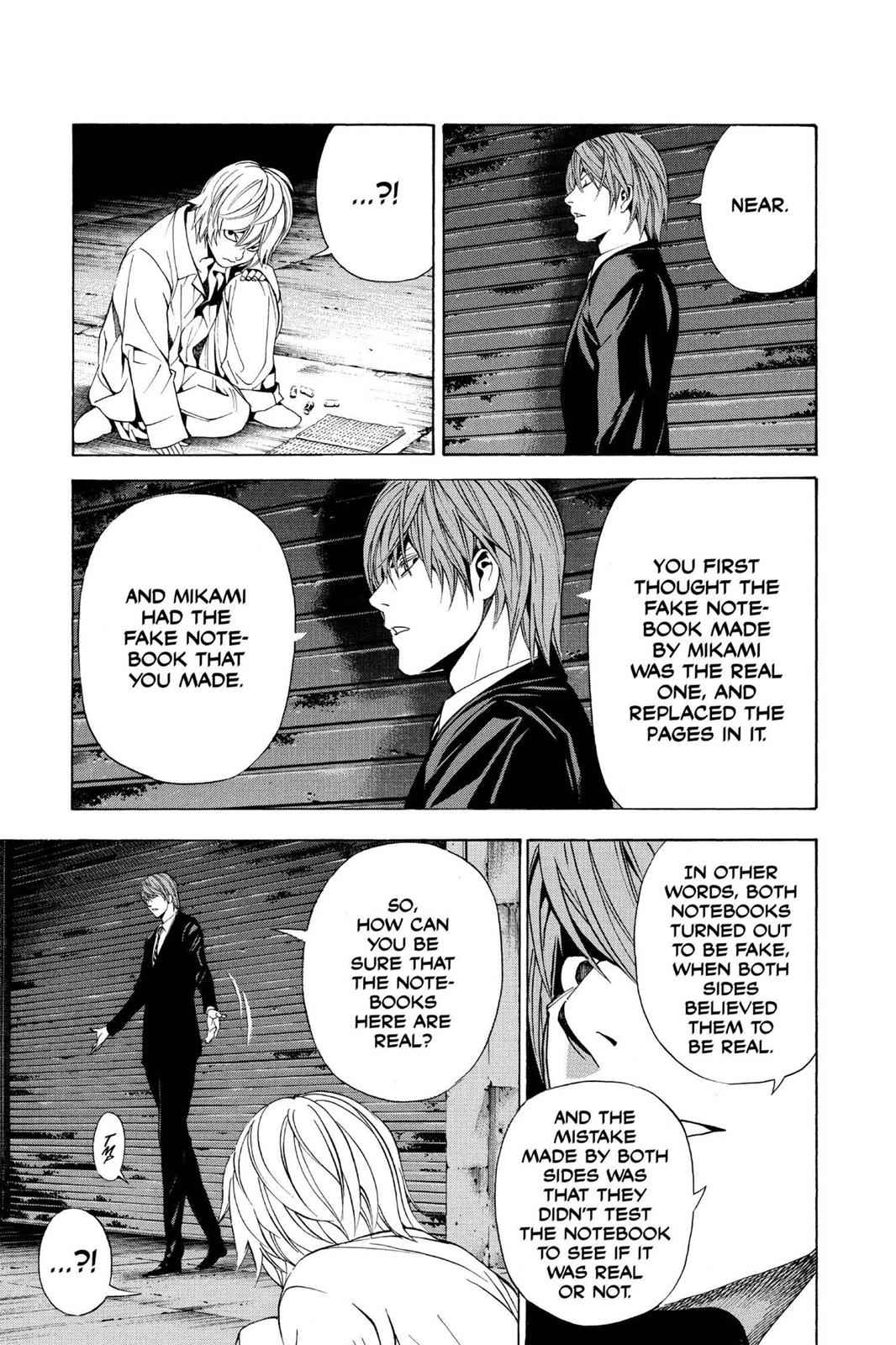 Death Note Chapter 106 Page 3
