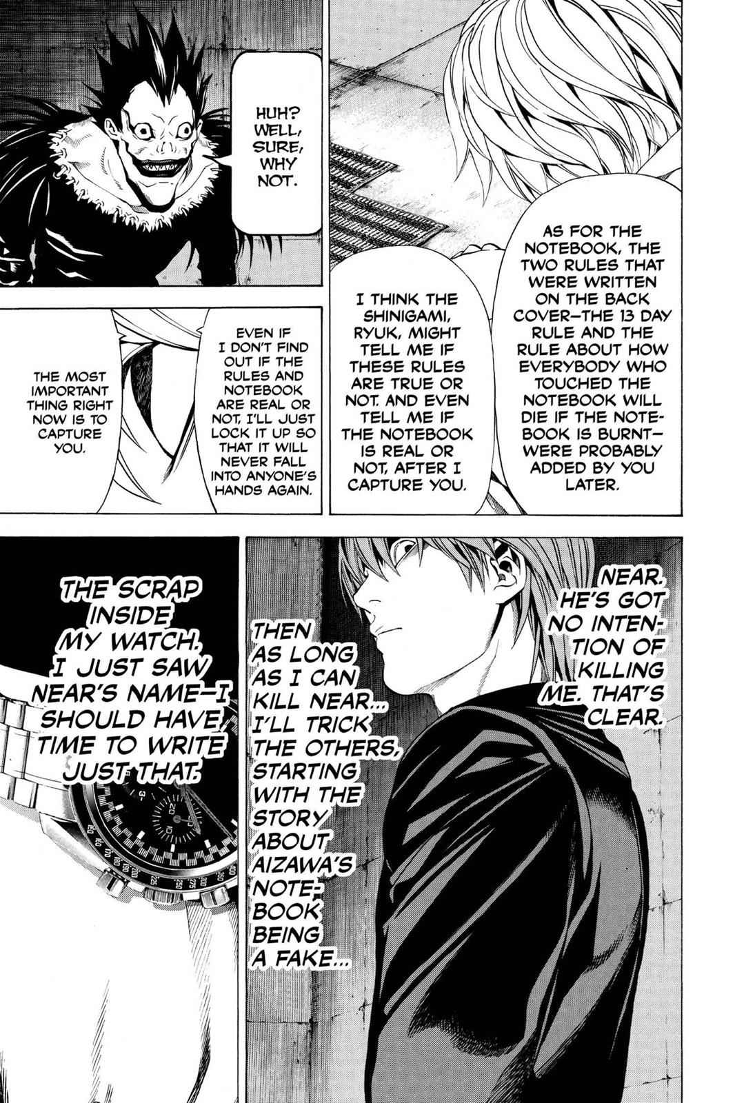 Death Note Chapter 106 Page 7