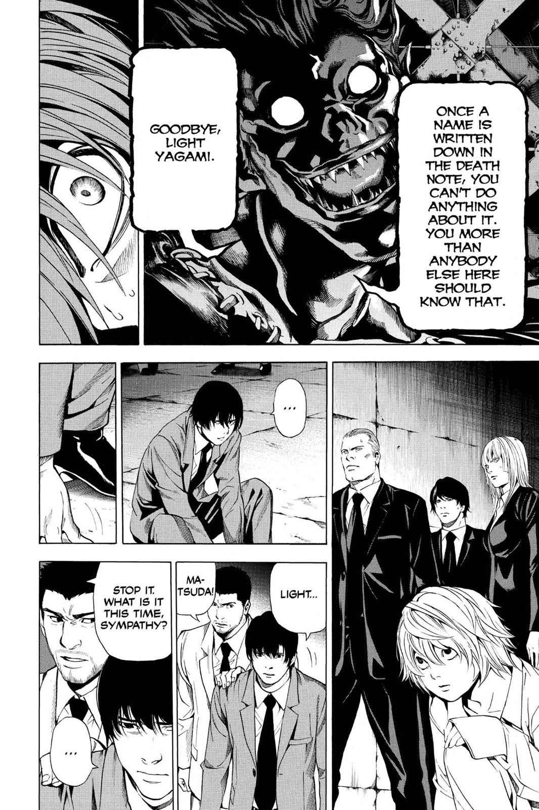 Death Note Chapter 107 Page 12