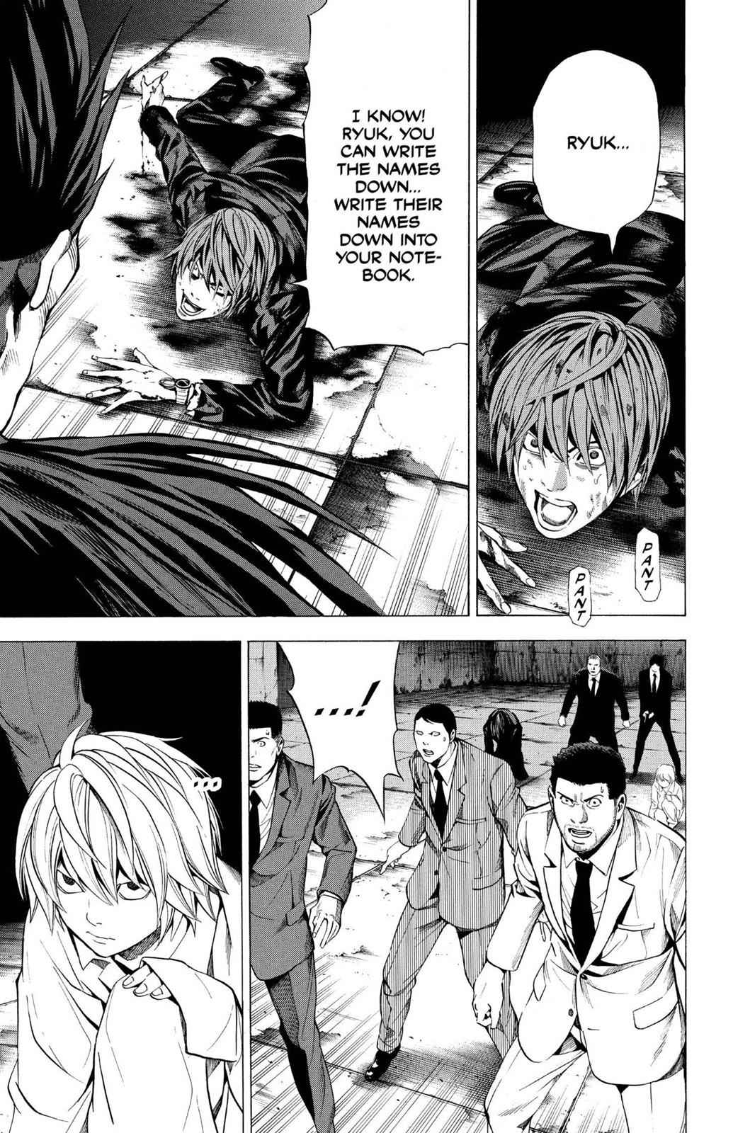 Death Note Chapter 107 Page 3