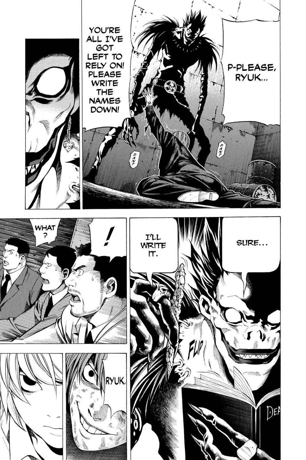 Death Note Chapter 107 Page 5