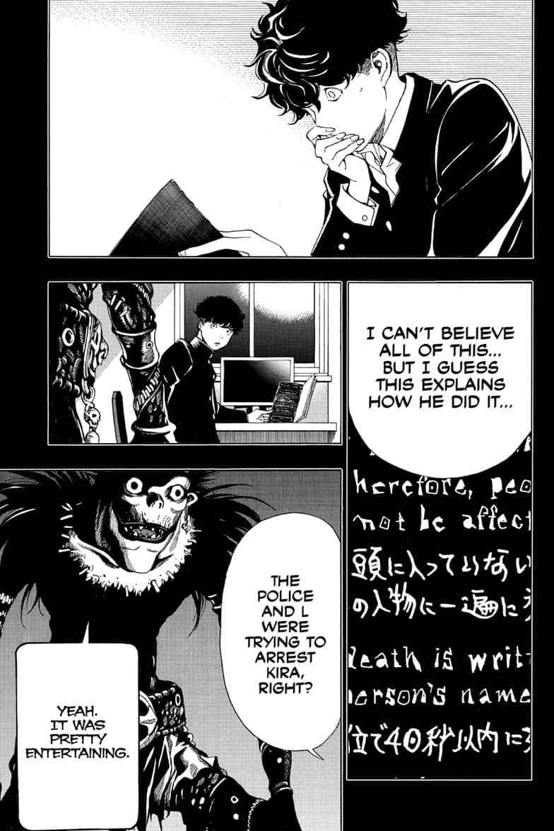 Death Note Chapter 110 Page 19