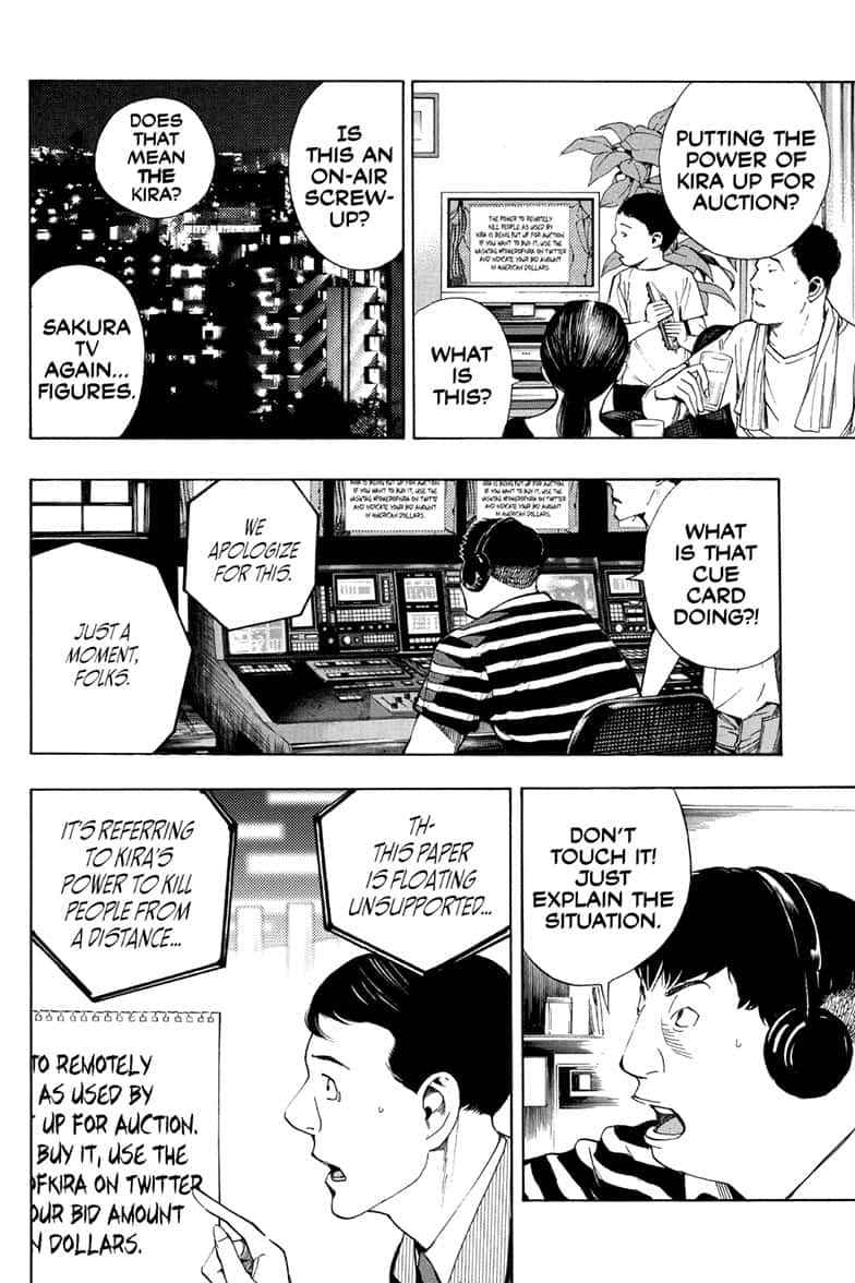 Death Note Chapter 110 Page 36