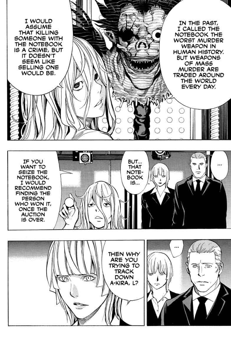 Death Note Chapter 110 Page 46