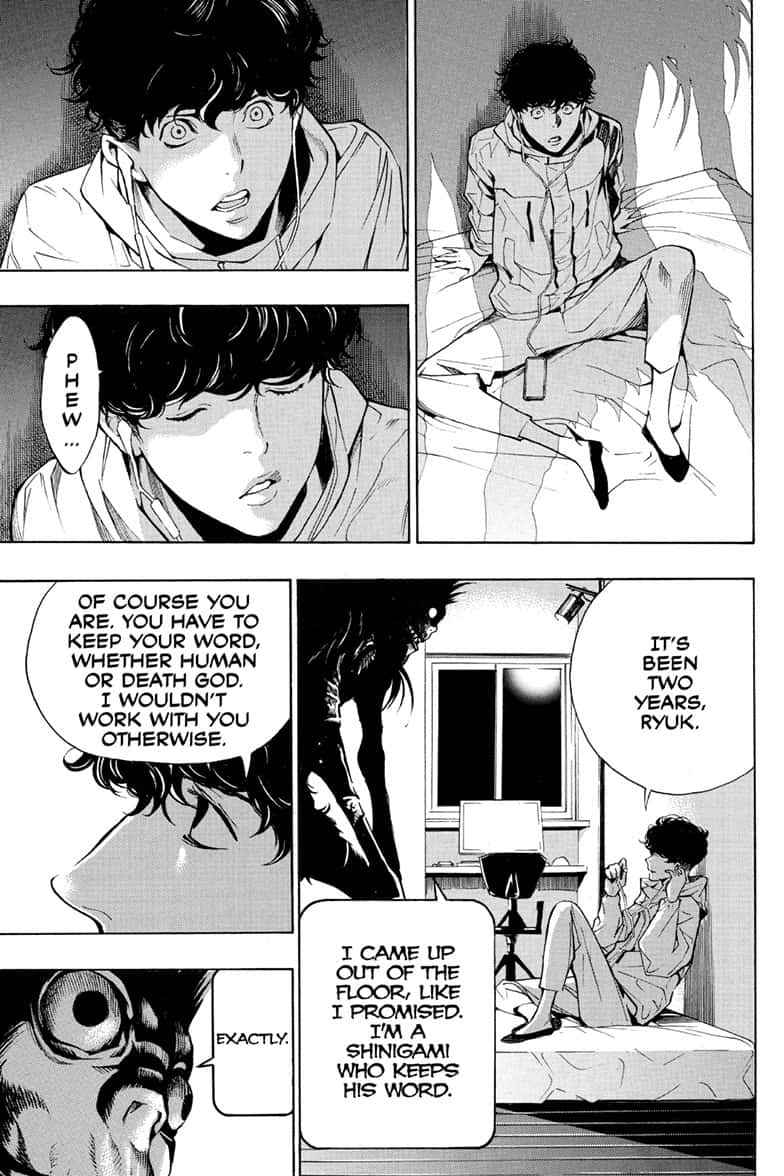Death Note Chapter 110 Page 7
