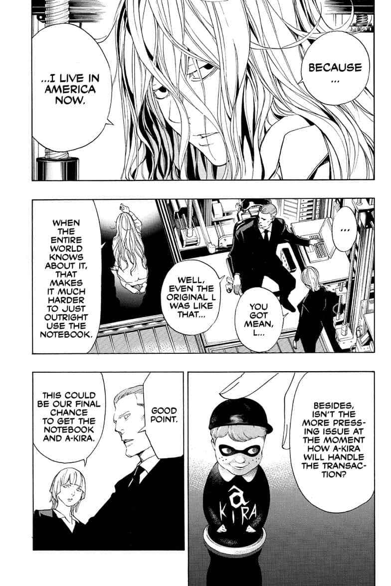 Death Note Chapter 110 Page 70